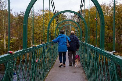 Tummel Suspension Bridge