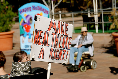 SINGLE PAYER RALLY ~ New Orleans style march