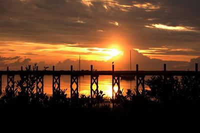 Sunrise in St.Augustine.September 15,2009