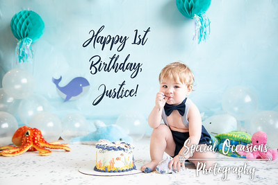 Justice's first birthday
