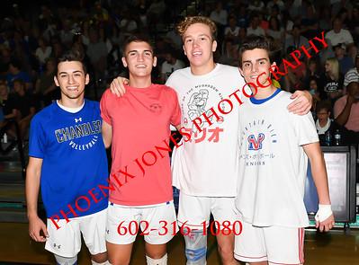 5-11-19 - AIA 6A Final Game - Chandler v Mountain View, Mesa, Boys Volleyball