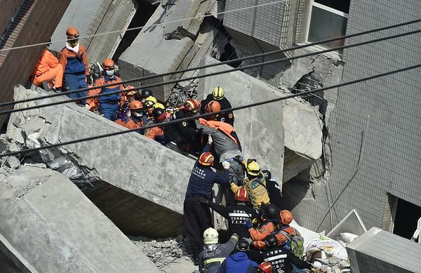 2016-02-06 Earthquake in Tiawan