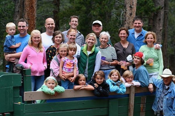 Sweeney Family Reunion 2007 - Estes Park, CO