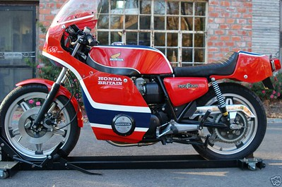 1977  Honda : CB 750  Phil Read Replica