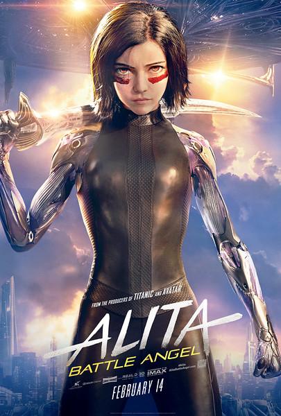 ALITA Battle Angel Release ABQ ComicCon