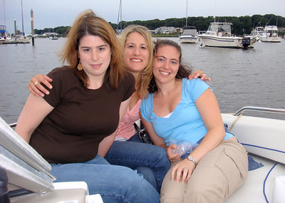 Girls Night Out on Freddie's Boat