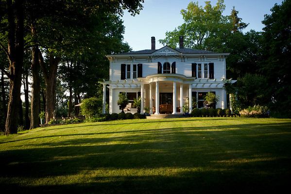 House and Garden in New York State