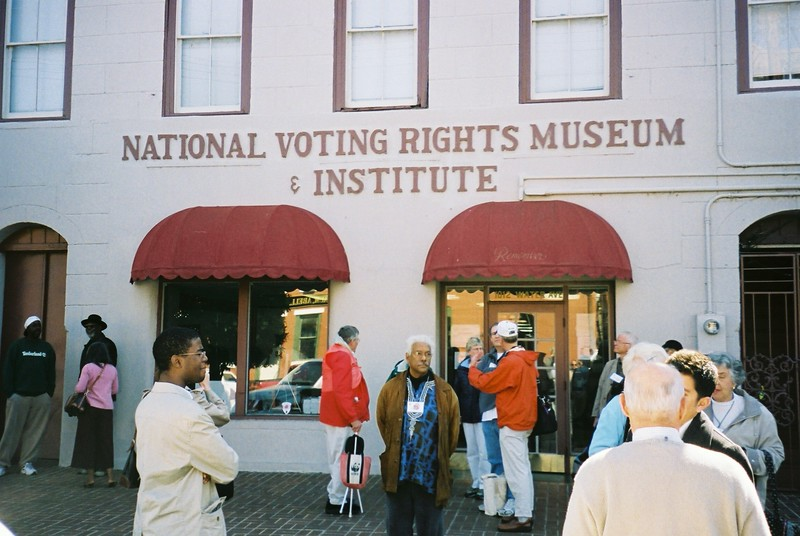 Princeton Group at National Voting Rights Museum - Bob Durkee