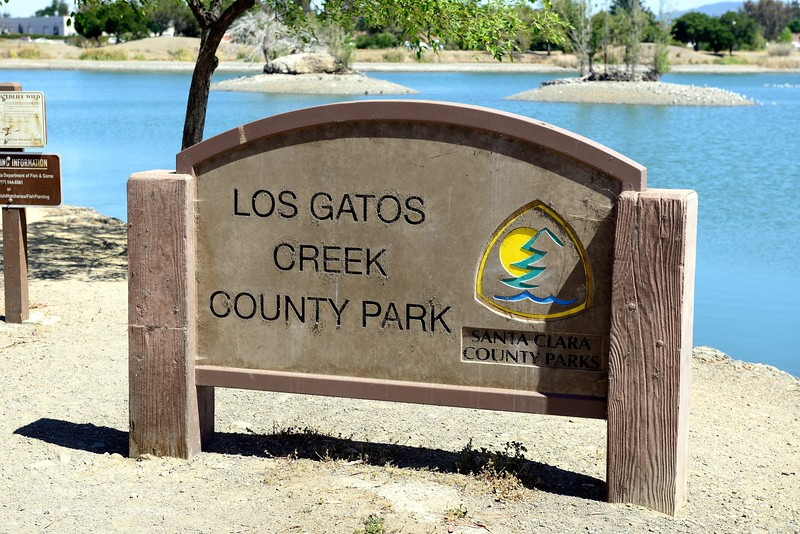 Five-mile hike on the Los Gatos Creek Trail, Los Gatos, California