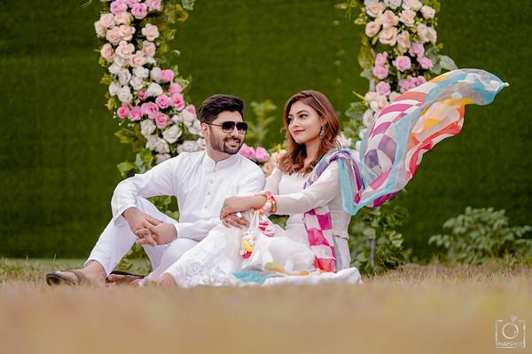 Sonia & Tausif Rong Khela