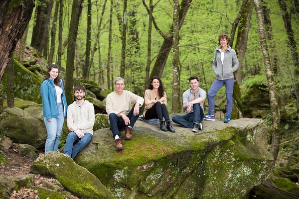 Teper Family @ Stephen's Falls