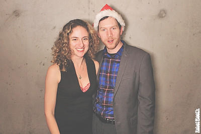 12-14-17 Atlanta Tribute Lofts Photo Booth - Holiday Party - Robot Booth