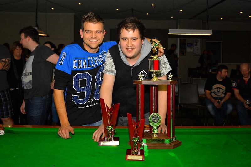 2015 winner Jake McCartney with Runner-up, Michael Hayes