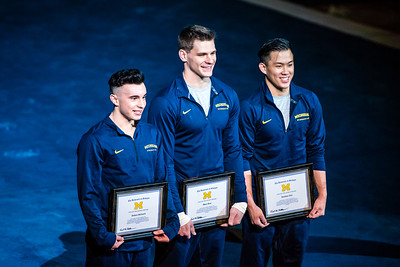 Senior Night - Michigan Men's Gymnastics Vs UIC 3-25-17