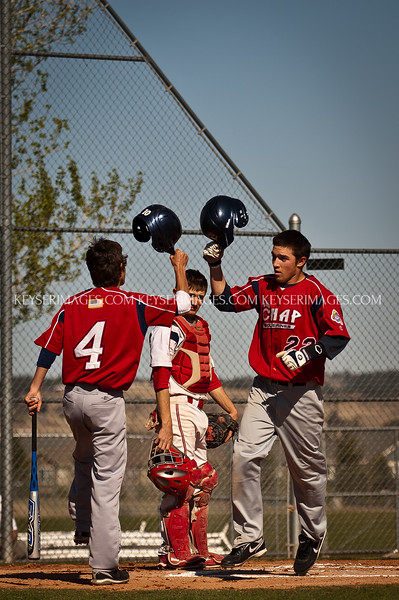 Colorado H.S. Baseball - Chaparral vs Heritage Junior Varsity
