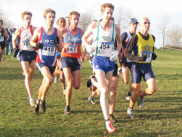 2005 Canadian XC Championships - Matt Kerr set the pace for awhile - this is at 2.5 km