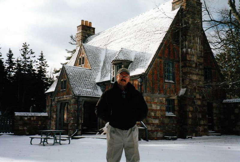 2002 - Doug, Brown Mountain Gatehouse in Maine.jpg