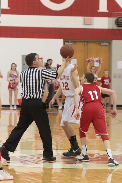Crusader Basketball vs Rose Hill  030516
