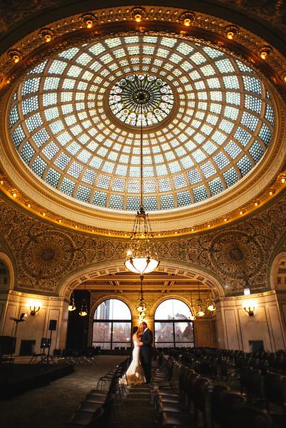 amanda + steve | day after session | museum campus, chicago cultural center, l platform, chicago