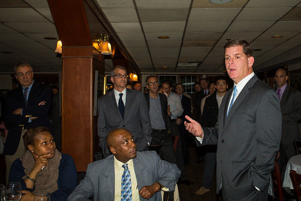 2013-12 | Mayor Elect Marty Walsh Fundraiser at Joe's Bar & Grille