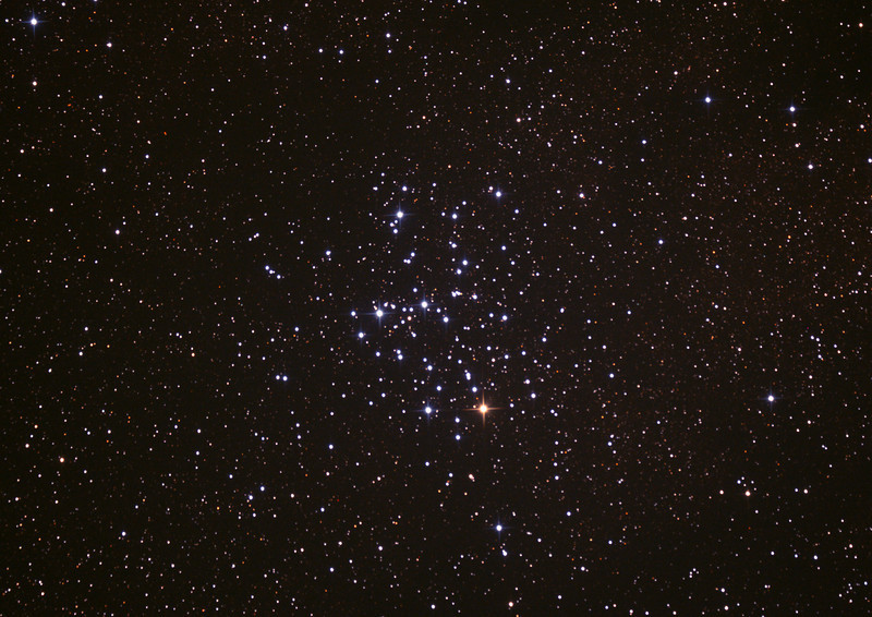 Messier M6 - NGC6405 - Butterfly Cluster - 29/6/2013 (Processed cropped stack)