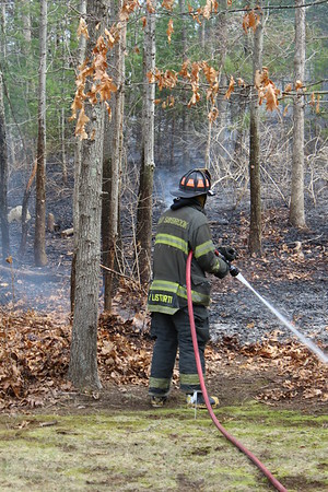3/23/2016 Rivers Ridge Rd Brush Fire