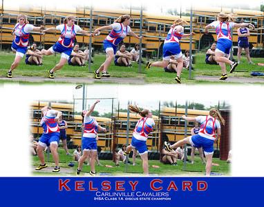 11x14 Kelsey Card Carlinville Cavaliers