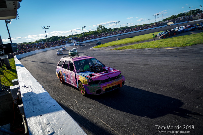 Seekonk Speedway Thrill Show 7/7/18