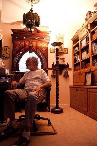 2013.03 - Trip to San Antonio - Papa Ben in his computer nook