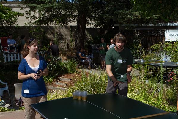 DAASV hosts Big Green Bus in Pong Tournament 8/8/10