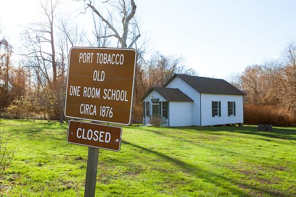Port Tobacco One Room Schoolhouse