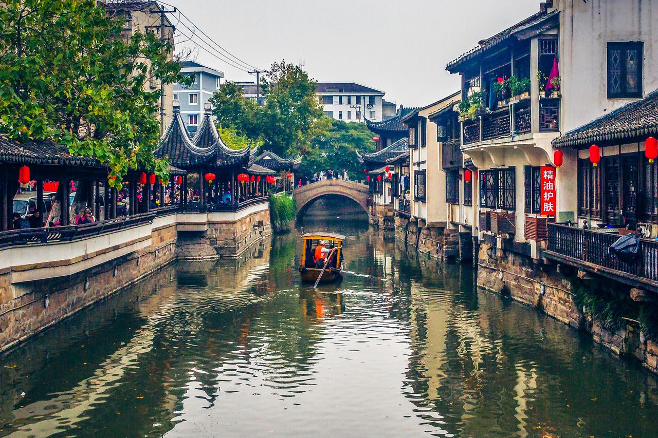 上海南翔,古镇风貌