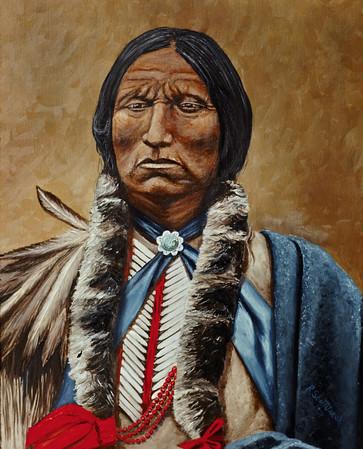 Fine Art Native American Paintings