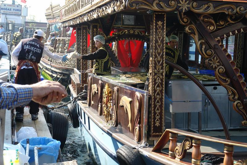 Istanbul's Rocking Fast Food Fish
