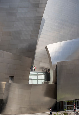 Walt Disney Concert Hall Designed by Frank Gehry, Los Angeles California