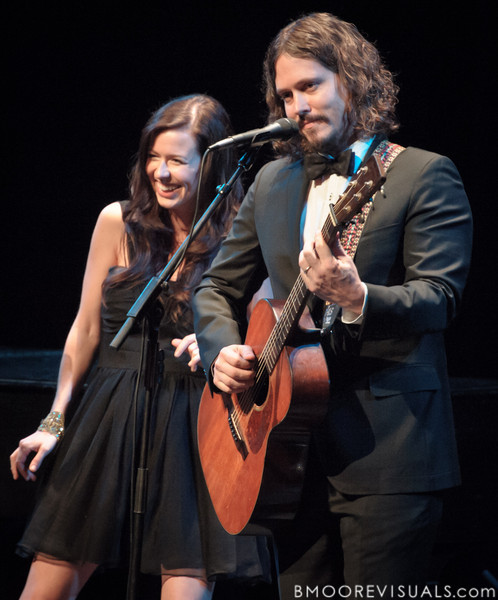 Joy Williams and John Paul White of The Civil Wars perform on February 2, 2012 at The Straz Performing Arts Center in Tampa, Florida