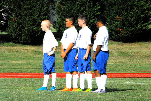 MS Soccer vs Goochland MS