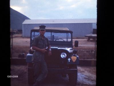 Chaplain Haryasz's Jeep