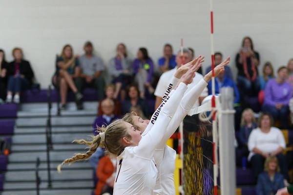 Volleyball vs Hackett - KCHS 10/8/19