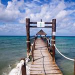 Cozumel docks in Yucatan Peninsula, Mexico
