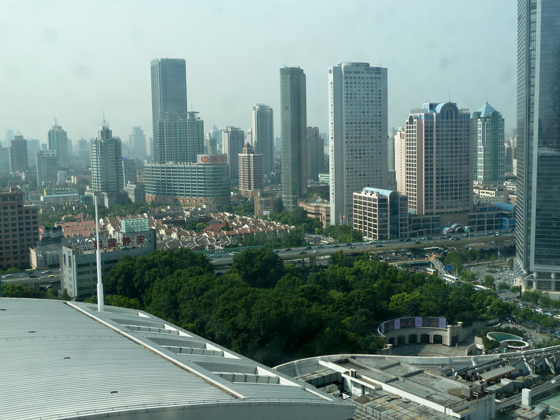 View from the Swissotel window.