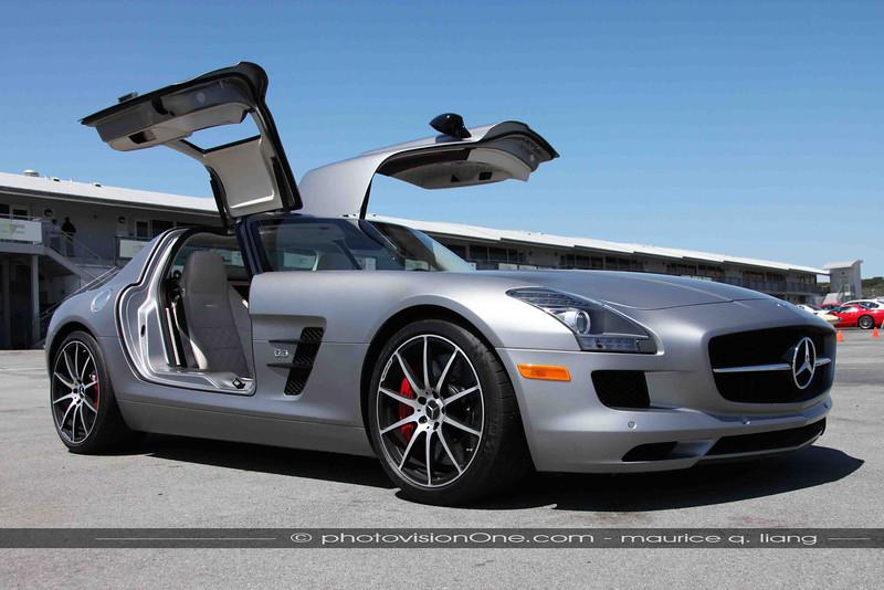 SLS AMG GT.