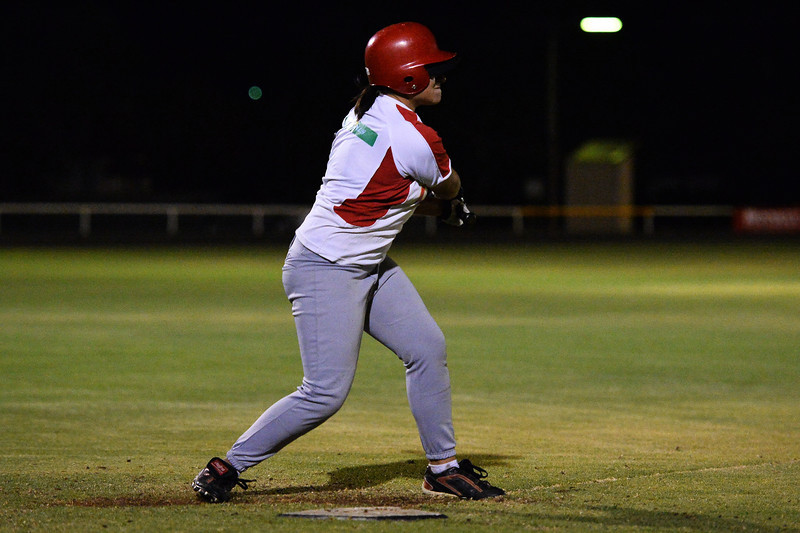 Taylee Healy (Lyrup) has made the switch from softball to baseball