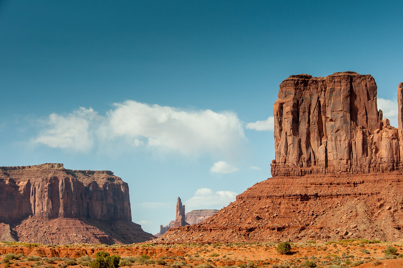 Buttes in Monument Valley, Utah