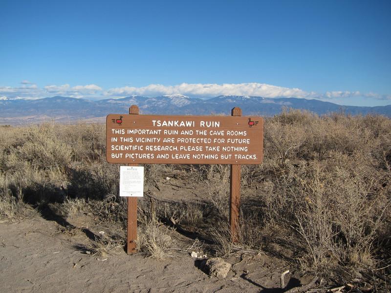 Between White Rock and Los Alamos, NM.