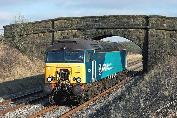 8th February 2012: Settle and Carlisle