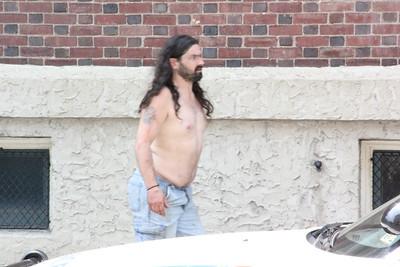 Man Causing A Distubance, West Broad St, Tamaqua (6-28-2012)