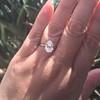 2.13ct Antique Pear Shape Diamond, GIA I, VS2 35