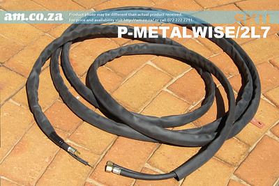 SKU: P-METALWISE/2L7, 7 Meters Long Torch Lead for MetalWise Mach-Two 100A Plasma Air-Cooling Mechanized Torch