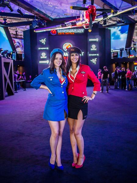 Wargaming girls at Gamescom 2013